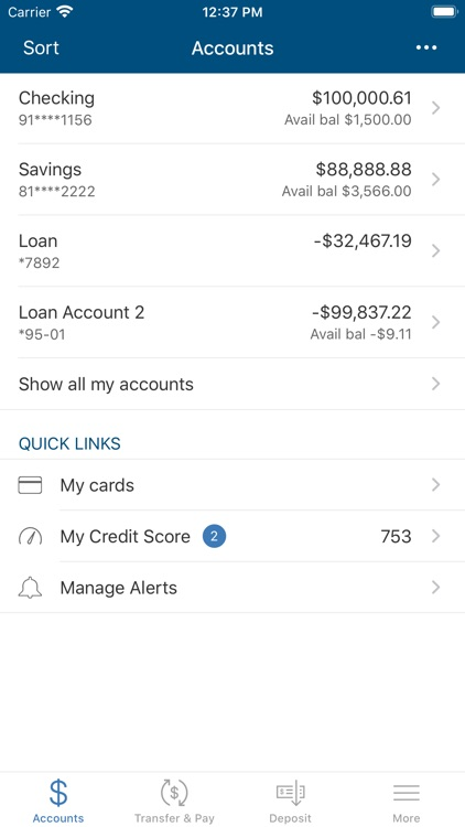 Cedar Rapids Bank – Personal