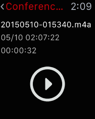 Screenshot #12 for Awesome Voice Recorder PRO AVR