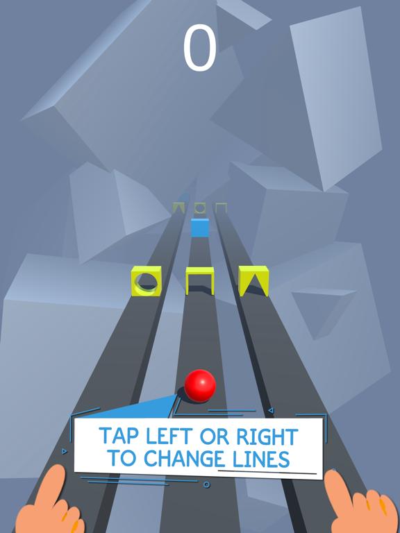 Race Road: Color Ball Star 3Dのおすすめ画像1