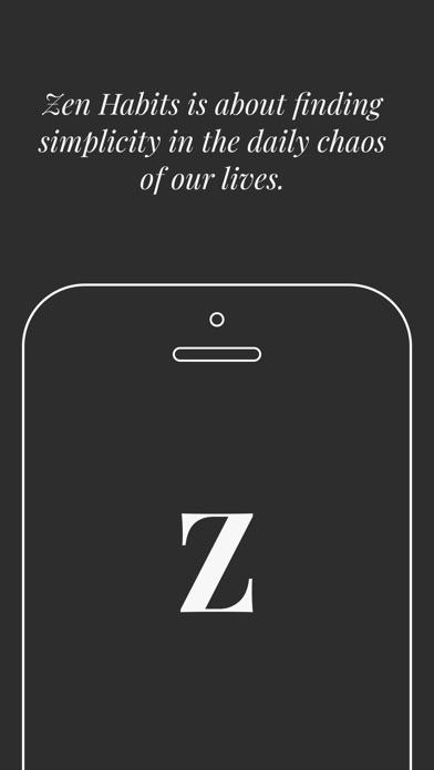 Zen Habits - by Leo Babauta Screenshots