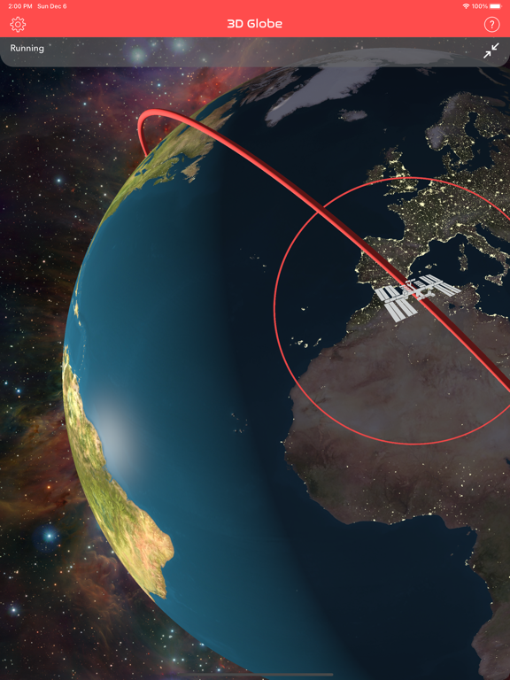 Screenshot #5 pour ISS Real-Time Tracker 3D