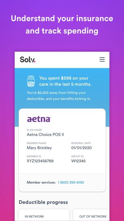 Solv: Convenient healthcare screenshot-4