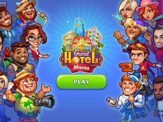 Grand Hotel Mania: Idle Tycoon iPad app afbeelding 1