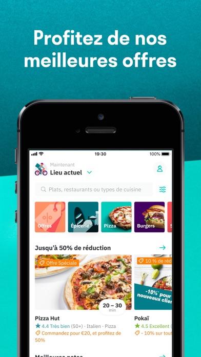 Télécharger Deliveroo: livraison de plats pour Pc