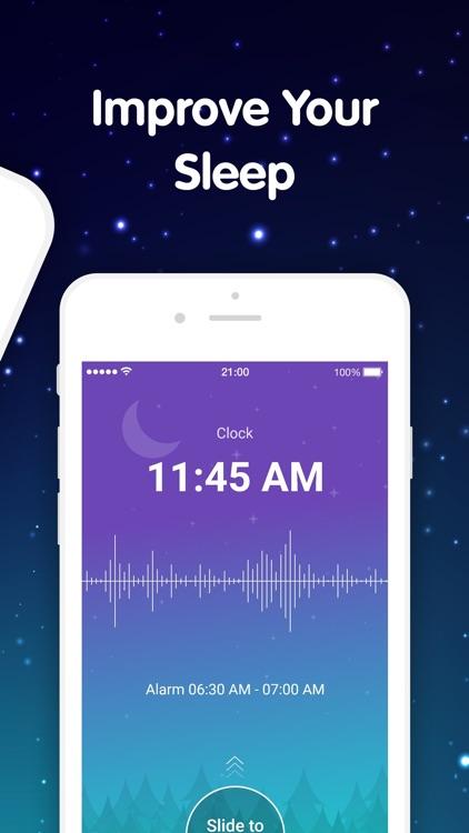 Sleep + Snoring Monitoring App