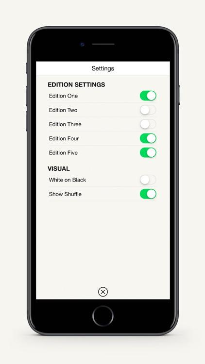 Oblique Strategies SE screenshot-3
