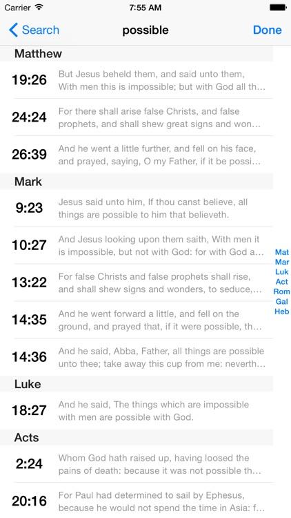 VerseWise Bible KJV screenshot-4
