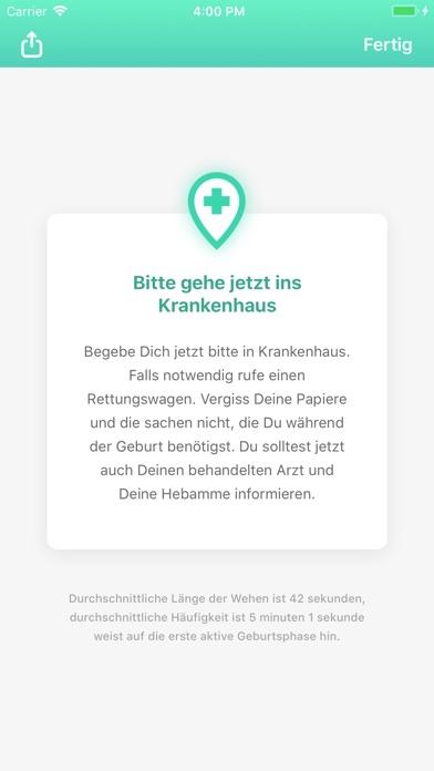 Screenshot for Wehen - Wehenzähler 9m in Germany App Store