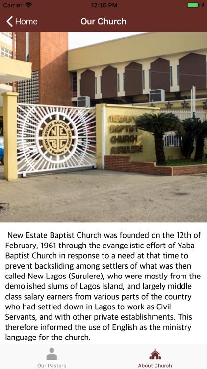 New Estate Baptist Church screenshot-5