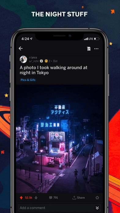 Reddit Screenshot on iOS