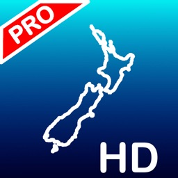 Aqua Map New Zealand - Pro HD