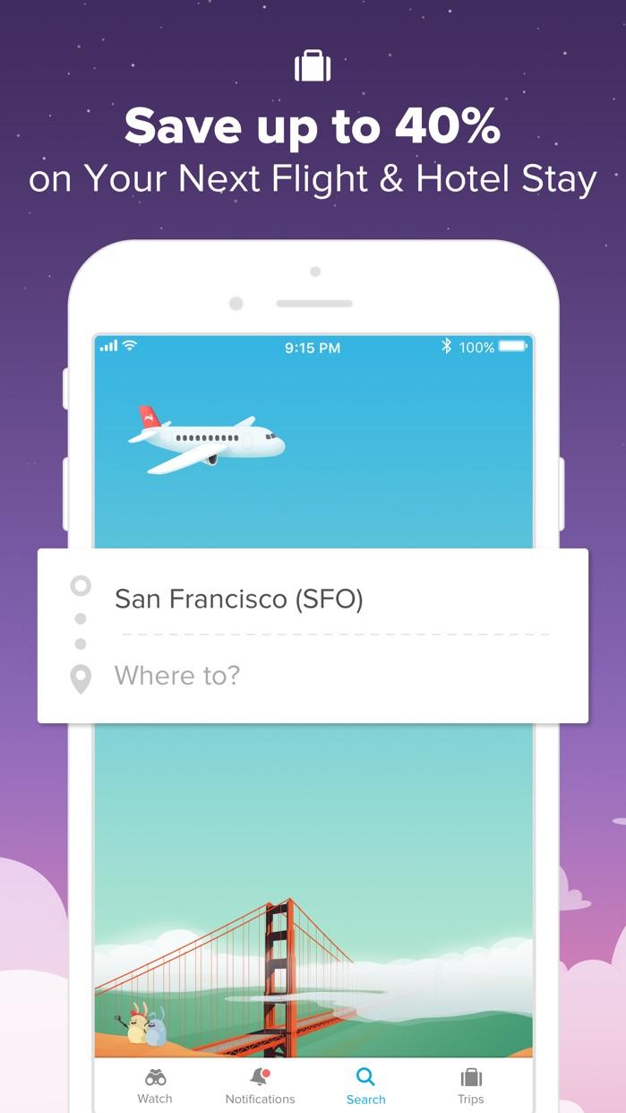 Hopper - Book Flights & Hotels Screenshot