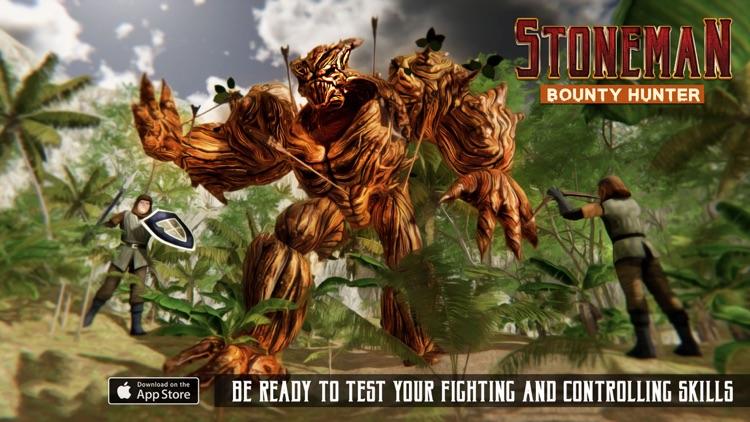 StoneMan Bounty Hunter Game screenshot-3