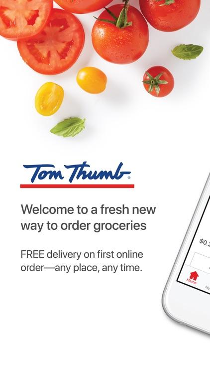 Tom Thumb Online Shopping