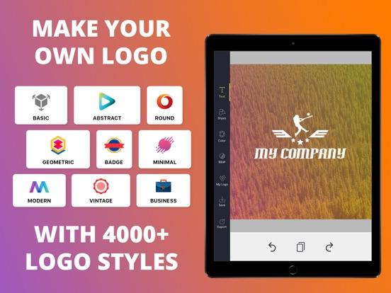 Logo Maker Creator Font Design-ipad-0