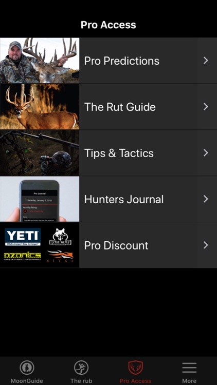 Deer Hunters Moon Guide