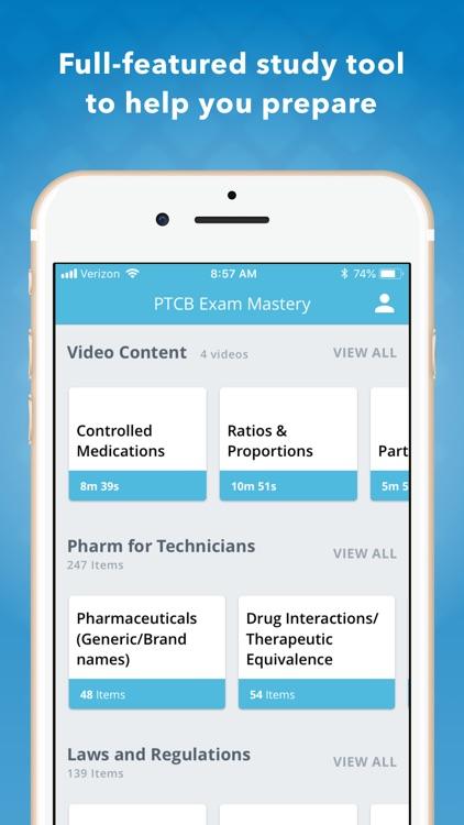 PTCB Pharmacy Tech Mastery screenshot-3