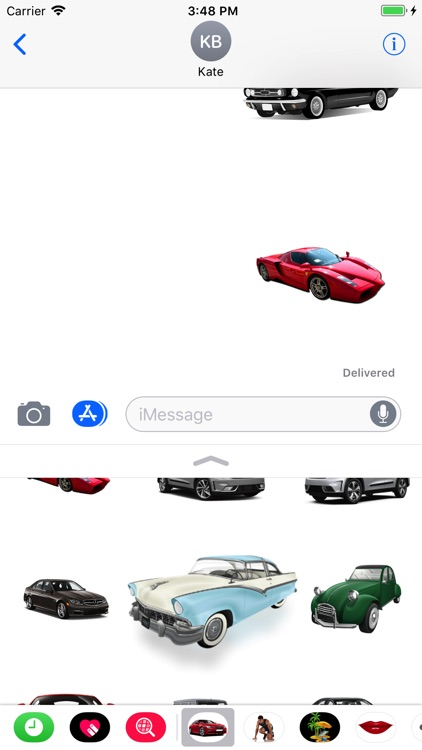 Cars Collection Stickers screenshot-4