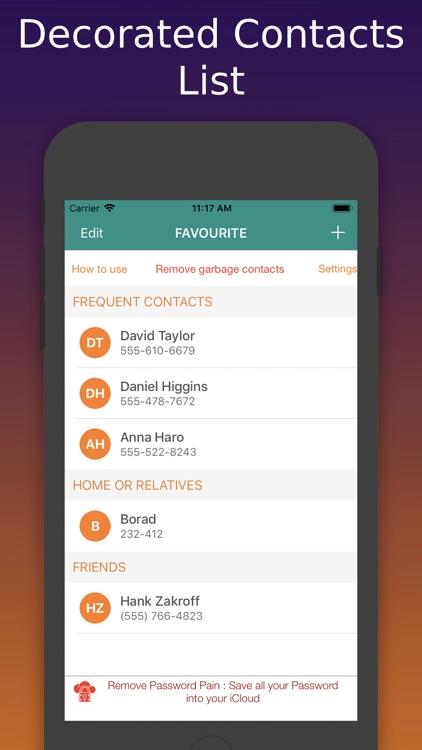Contacts Widget & Manager screenshot-4