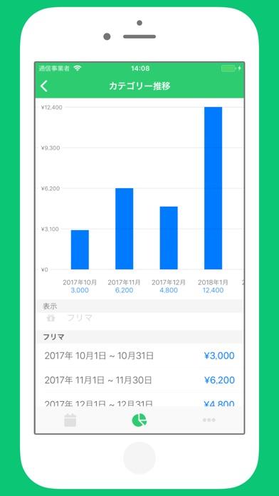 家計簿 Monelyze - シンプルな家計簿アプリスクリーンショット6