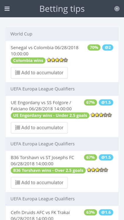iBetting Tips Football