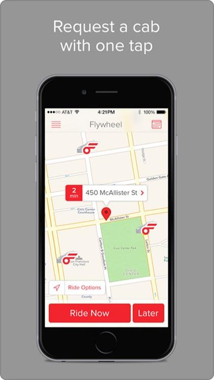 Flywheel - The Taxi App screenshot-0