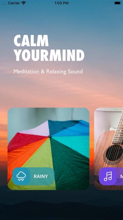 Rain sounds & meditation