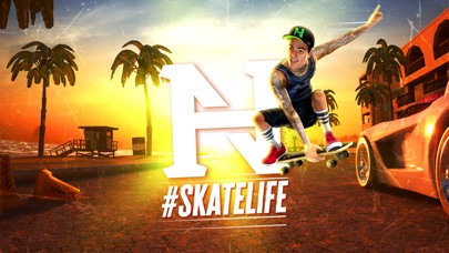 Nyjah Huston: #Skatelife Screenshot 1