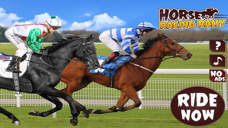 Horse Riding Racing Rally screenshot-3
