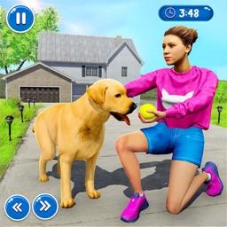 Virtual Family Pet Dog Game