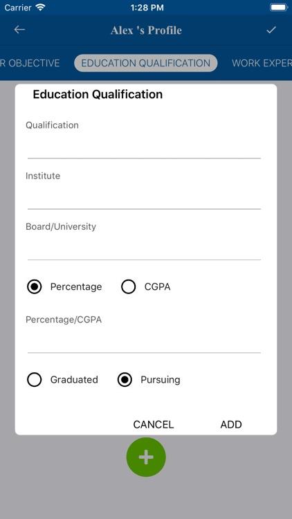 Resume Builder - CV makers screenshot-9