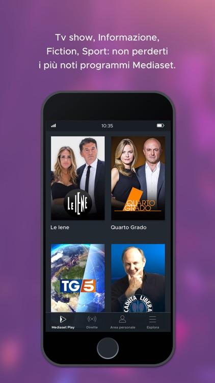 Mediaset Play screenshot-4