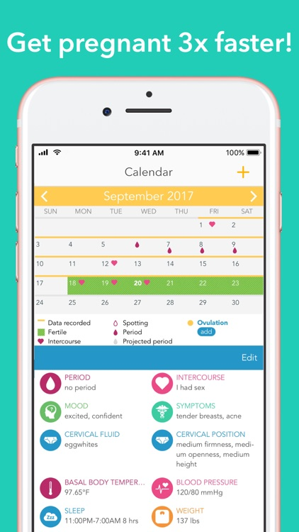 Free Period Tracker App For Iphone