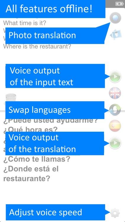 Offline Translator Spanish
