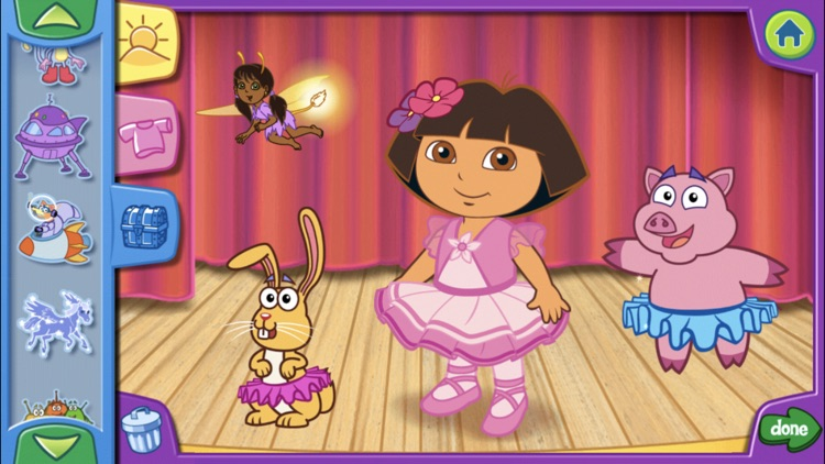 Dora's Dress-Up Adventures! screenshot-3
