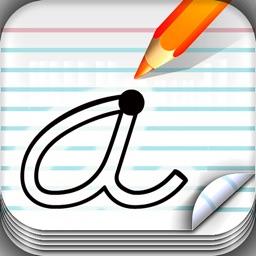 School Writing - learn the abc