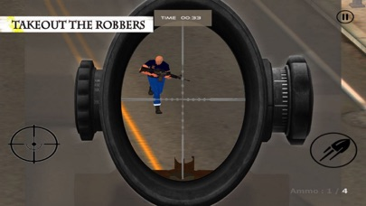 Sniper Shoot:Bank Robbers Gang screenshot two