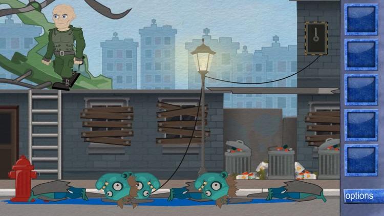 Escape Zombie Area screenshot-4