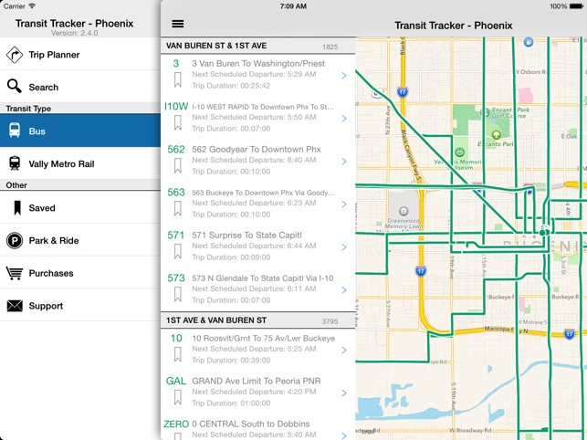 Transit Tracker - Phoenix on the App Store