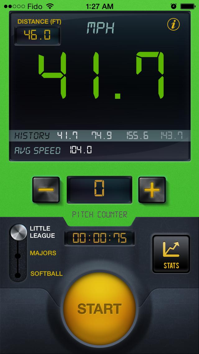 野球スピードレーダーガンプロのおすすめ画像3