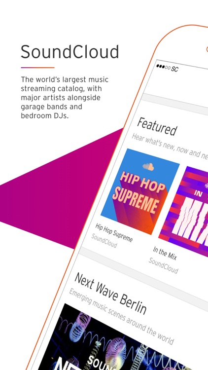 SoundCloud - Music & Audio screenshot-0