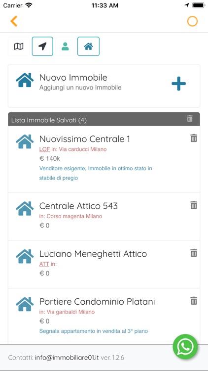 Immobiliare 01 - App x Agente screenshot-6