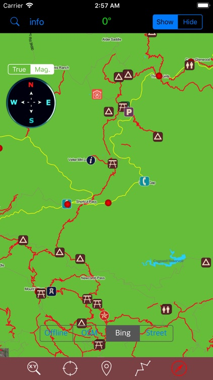 Angeles National Forest GPS screenshot-3