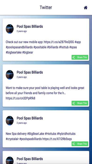 Pool Spas Billiards screenshot one