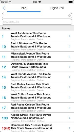 Transit Tracker - Denver on the App Store