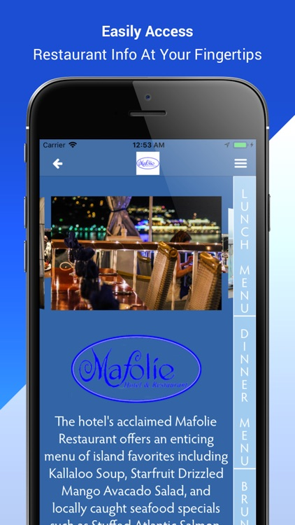 Mafolie Hotel and Restaurant