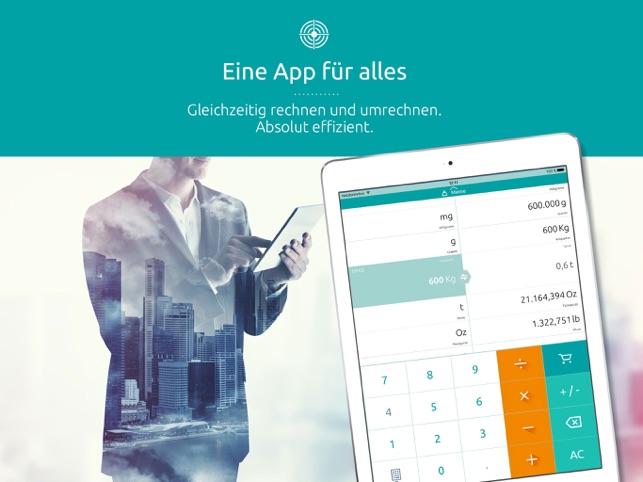 Einheitenumrechner - Umrechner im App Store