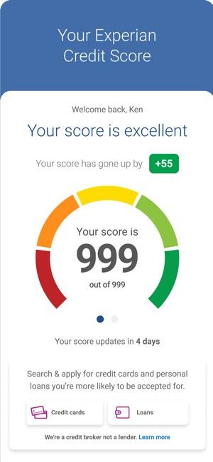 Experian: Credit Score im App Store