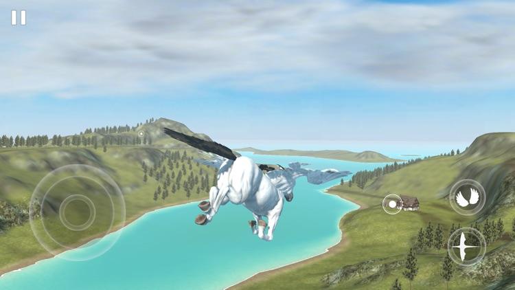 Flying Unicorn Simulator 2021 screenshot-5