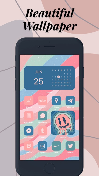 Icon Theme - Aesthetic Kit screenshot-6